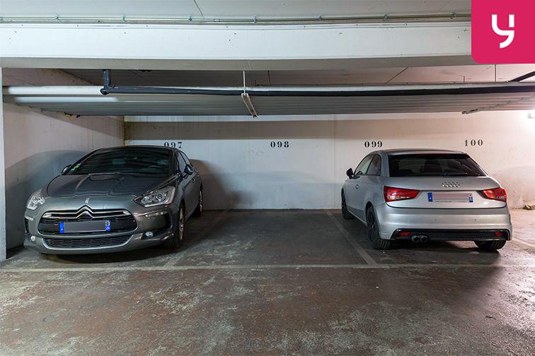 Parking Gare Vaugirard - Paris 15 (place moto) souterrain