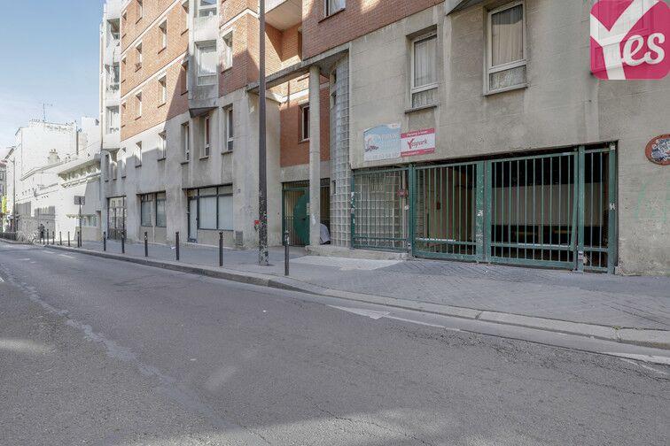 Parking La Bellevilloise - Paris 20 souterrain