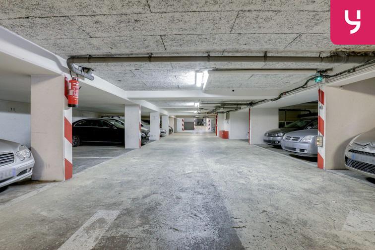 Parking Regard Saint-Martin - Paris 20 (place moto) caméra