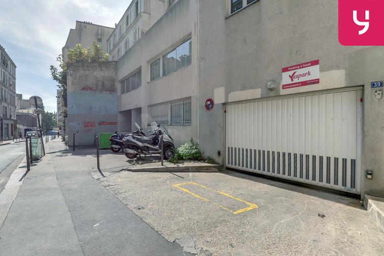 Parking Regard Saint-Martin - Paris 20 (place moto) garage