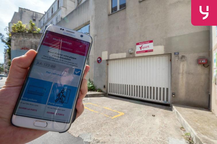 L'application Yespark sert de Télécommande qui vous permet d'ouvrir l'accès au parking