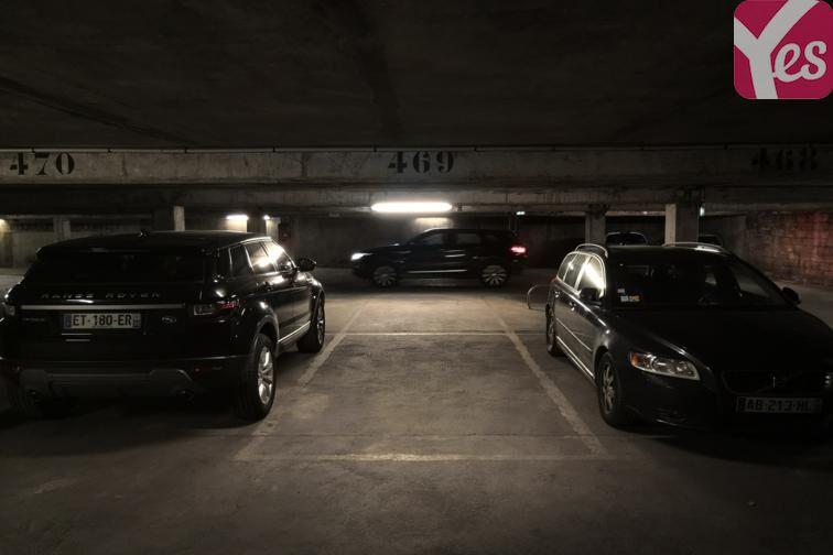 Parking Pantin - Victor Hugo sécurisé