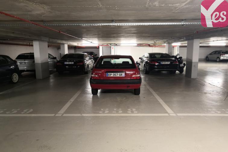 Parking Forêt Domaniale de Meudon - Vélizy-Villacoublay caméra