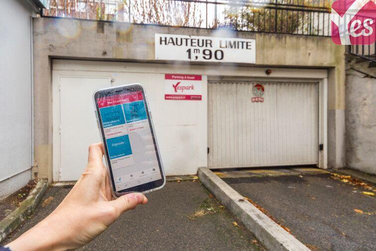 location parking Gentilly - Reine Blanche