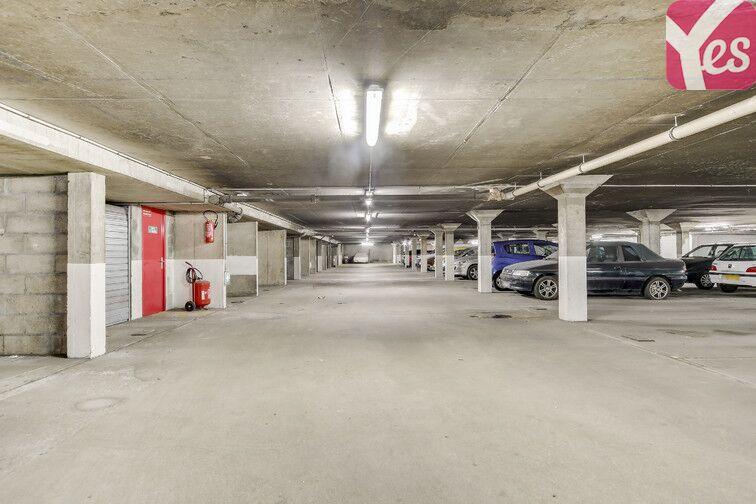 Parking Gentilly - Reine Blanche caméra