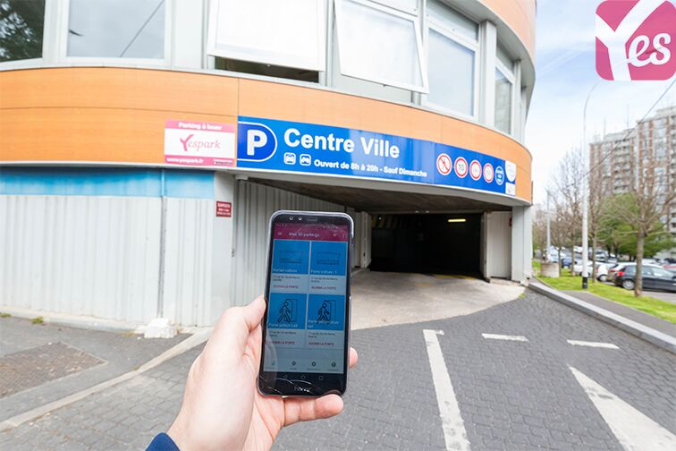 location parking Gentilly - Frileuse Centre-ville