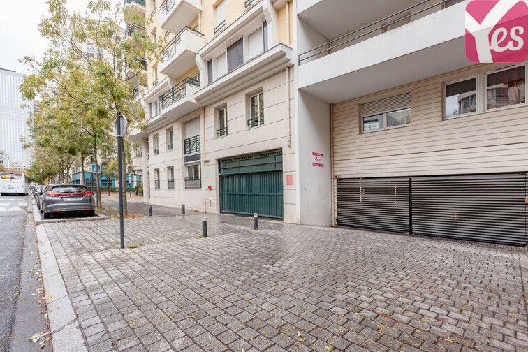 Parking Parc des tilleuls - Courbevoie caméra