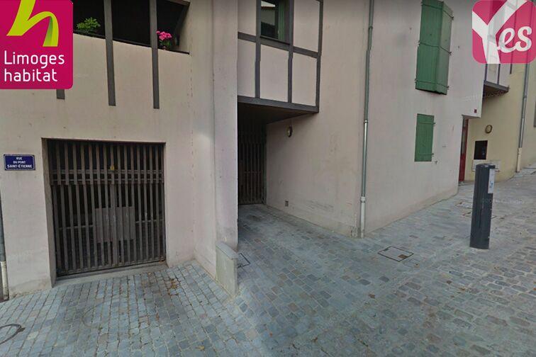 location parking Jardins de l'Evêché - Limoges