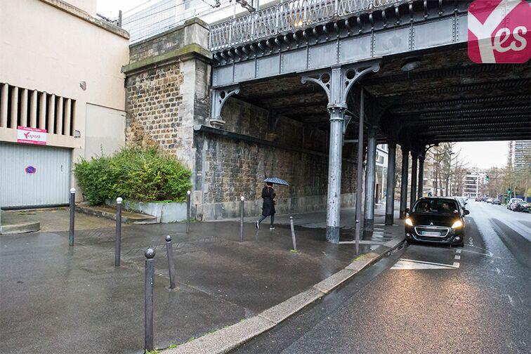 Parking Parc Montsouris - René Coty Paris