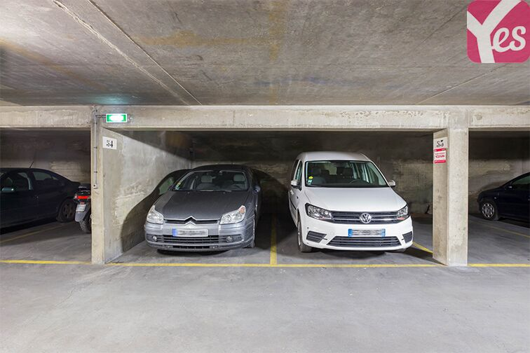 Parking Parc Montsouris - René Coty gardien