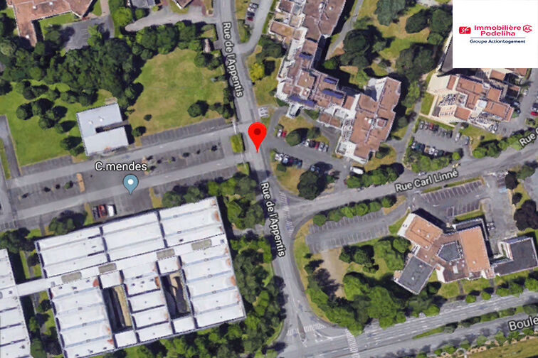 location parking Angers - Roseraie