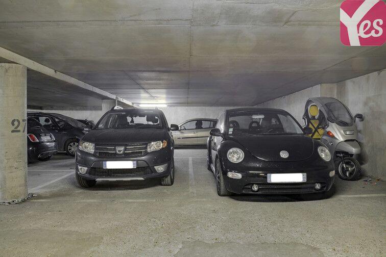 Parking Bréguet-Sabin sécurisé