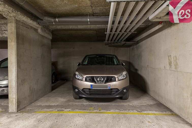 Parking Gymnase Chaban-Delmas Courbevoie