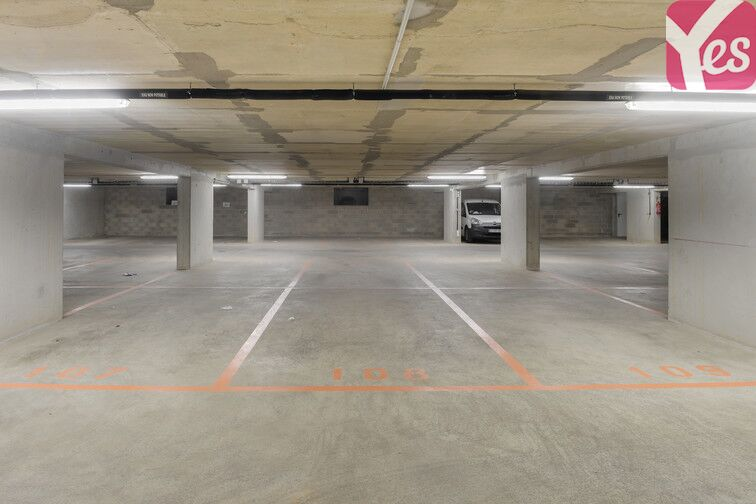 Parking Square Alfred Capus - Porte d'Auteuil garage