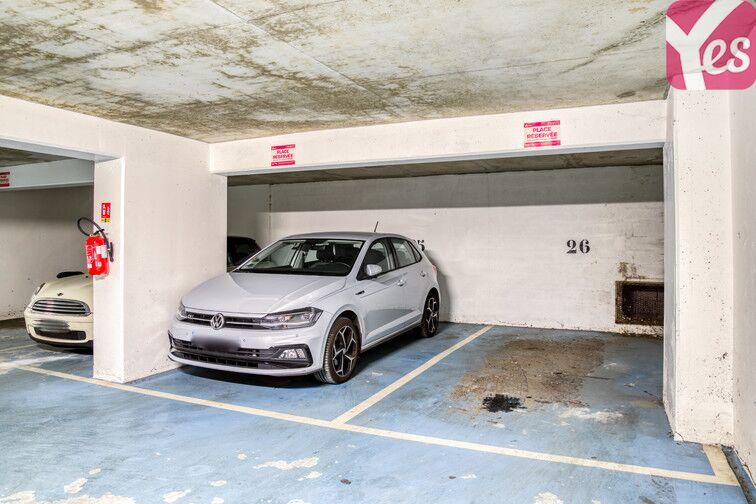 Parking Ménilmontant caméra