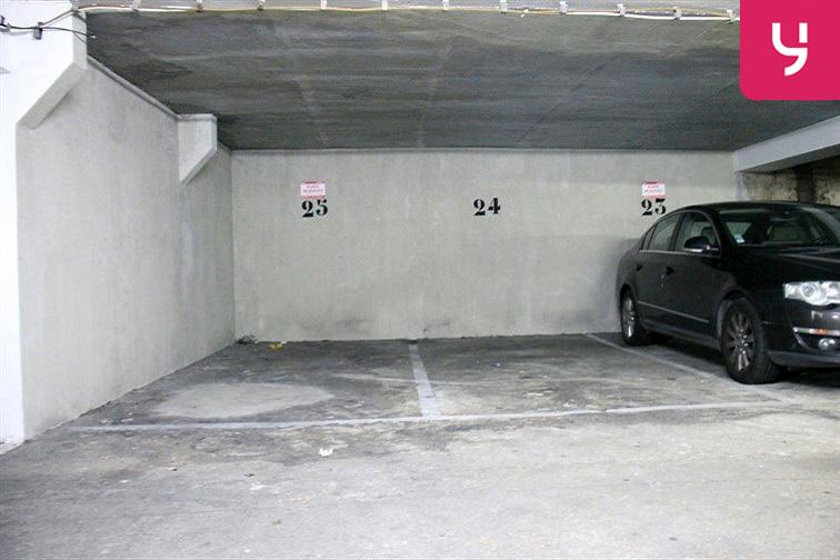 Parking Canal Saint-Martin location mensuelle