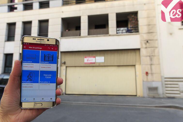 Location parking Neuilly-Casteres - Clichy - Entrée de Ville