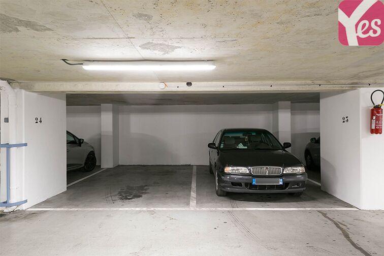 Parking Léonard de Vinci - Courbevoie - Fb de l'Arche gardien
