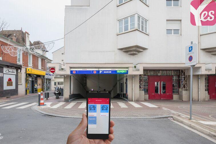 Parking Place de Verdun - Enghien-les-Bains garage