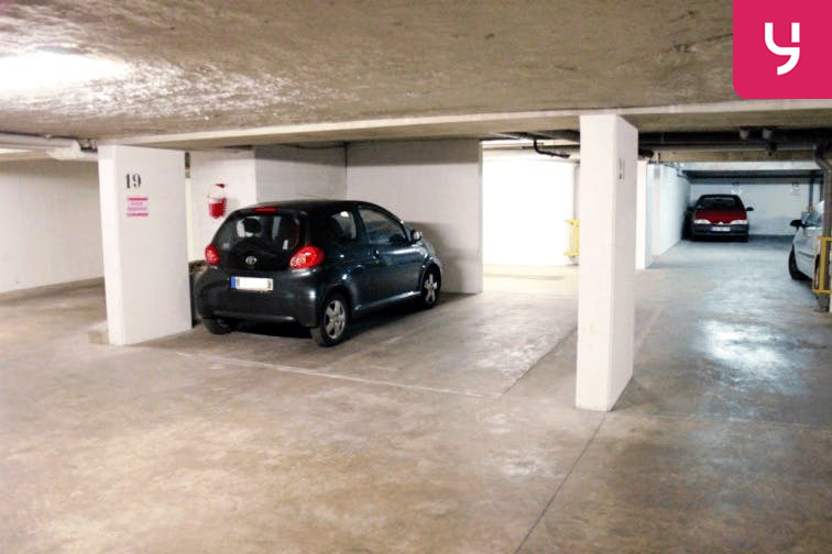 Parking Montgallet caméra