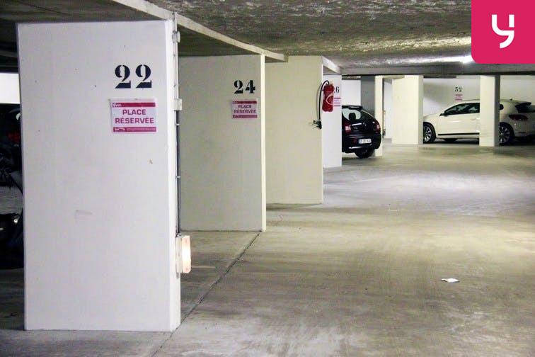 Parking Montgallet gardien