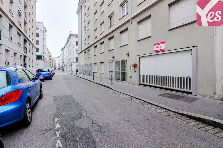 Location parking Square Sainte-Marie-Perrin - Lyon 3