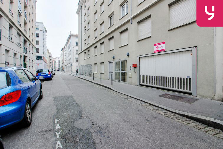 Location parking Square Sainte-Marie-Perrin - Lyon 3 (place double)