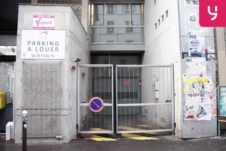Parking Parmentier sécurisé