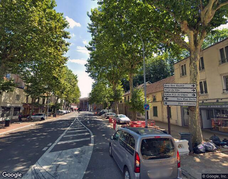 Parking Gare de rive droite - Viroflay caméra