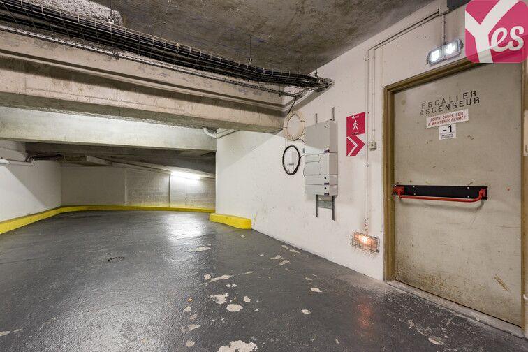 Parking Bellevue - Boulogne-Billancourt caméra