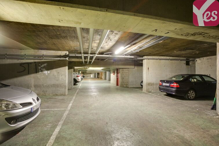 Parking Pesaro - Nanterre caméra