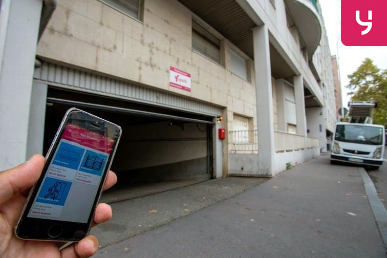 Parking Archives départementales - Lyon 3 (place double) à louer