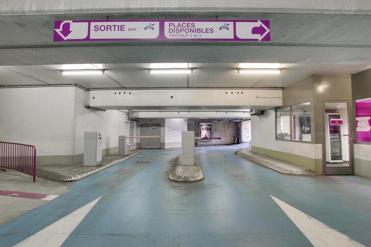 Parking Lycée Georges de la Tour - Metz caméra