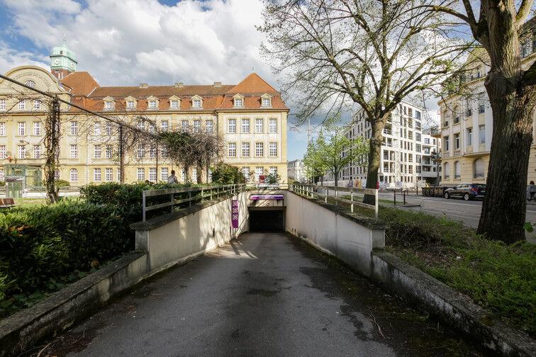 Parking Lycée Georges de la Tour - Metz souterrain
