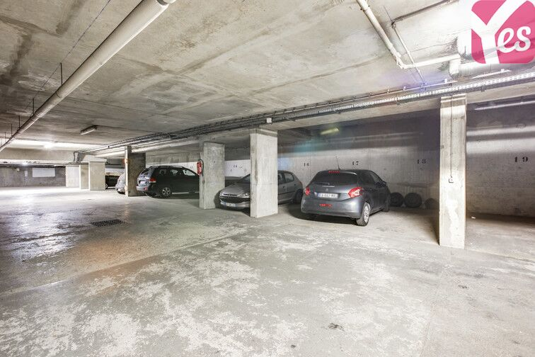 Parking Buttes Chaumont - Est box