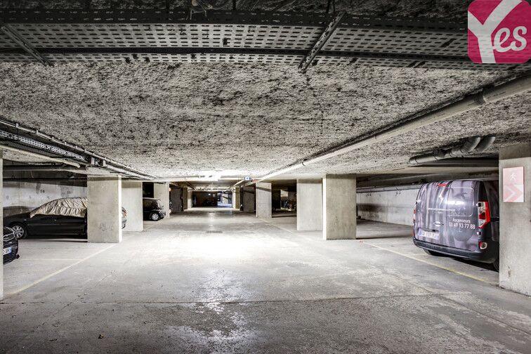 Parking Buttes Chaumont - Est sécurisé