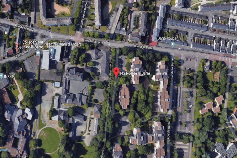 Parking Jean XXIII - Angers location