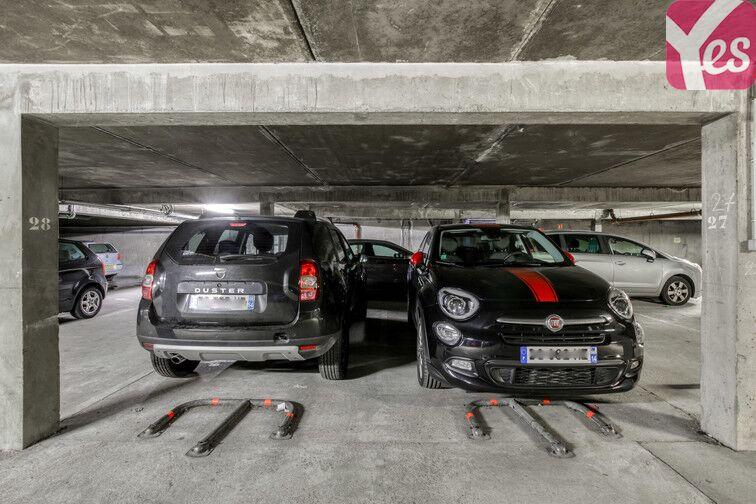 Parking Tour de la Commanderie - Nancy box