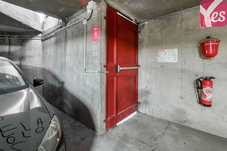 Parking Tour de la Commanderie - Nancy sécurisé