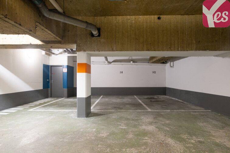 Parking Ardennes - Ourcq - Paris 19 caméra