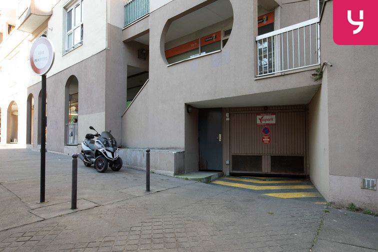 Location parking Alésia - Places motos