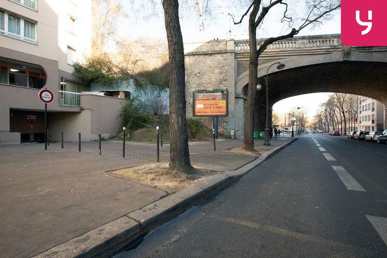 Parking Alésia (place moto) souterrain