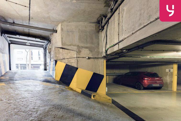 Parking Alésia (place moto) 4 rue d'Alésia