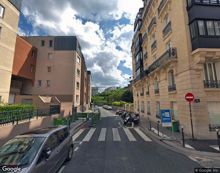 Parking Montsouris - Dareau - Alésia - places motos caméra