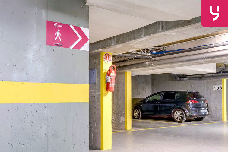 Parking Montsouris - Dareau - Alésia (place moto) 35 rue Saint-Gothard