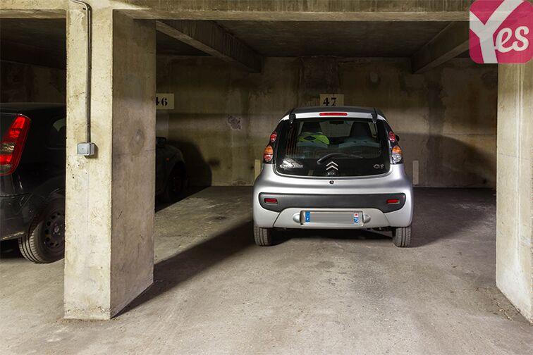 Parking Reims - Hôtel des Impôts - Paris gardien