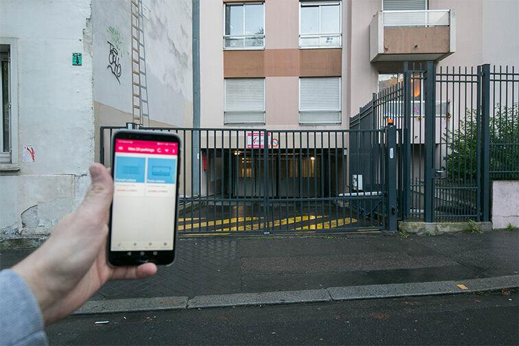 location parking Olympiades - rue Clisson - Paris 13