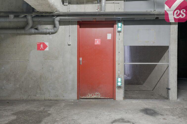 Parking Couronnes - Parc de Belleville souterrain