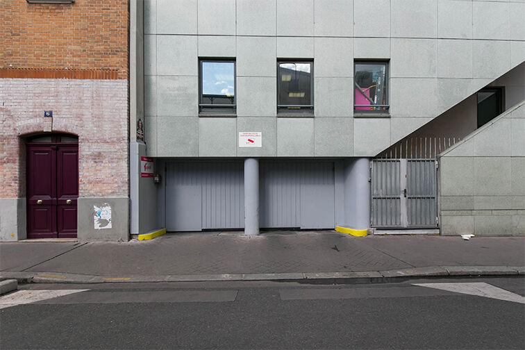 Parking Bastille - rue de la Roquette - Paris 11 gardien