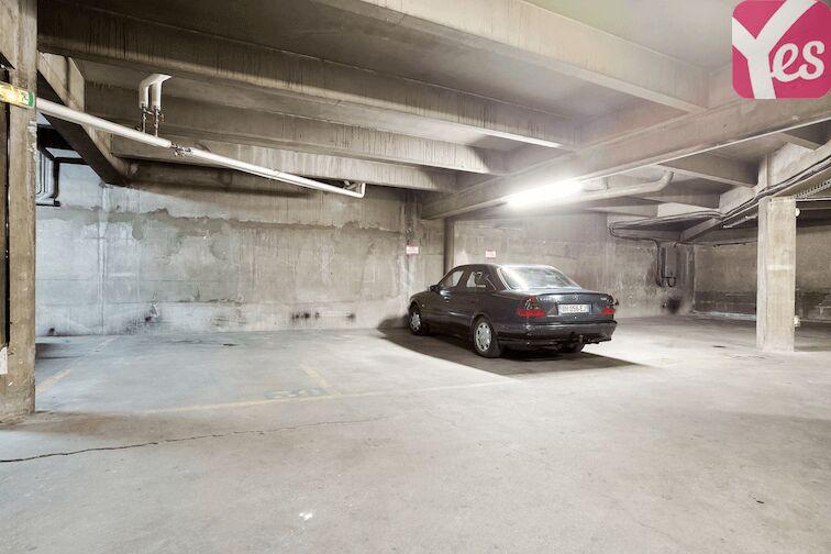 Parking Ménilmontant - Jardin des Amandiers caméra